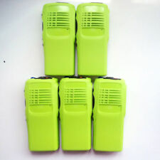 5*Green Replacement new front Housing cover For Motorola GP328 Two Way Radio