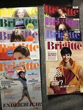9 x Brigitte Zeitschrift Frauenzeitschrift 2008 -2012