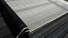 Black White Stripes Chevron Fabric Upholstery Trimming Material Citroen 2CV Seat