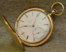 early 18k Howard hunter w/ coles resilient escapement ~ runs well