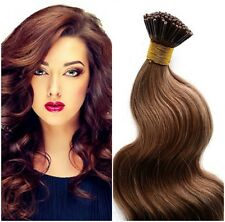 "I-Tip For Micro Links 22"" European RemyBody Hair Extensions 100 Strand Any Color"