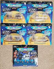 NEW Micro Machines Space Star Wars X-Ray Fleet Collection I-IV & Rebel Pilots