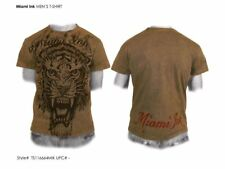 MIAMI INK T-Shirt Tiger brown - Taglia S - OFFICIAL MERCHANDISE