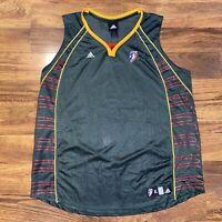 Vintage Adidas Seattle Storm WNBA Basketball Jersey Dark Green Blank Size XL