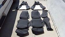 RECARO SEAT KIT LX-C GERMAN VINYL SEAT KIT SET BEAUTIFUL NEW