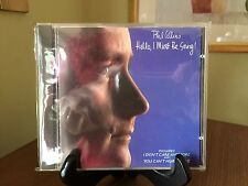 PHIL COLLINS- Hello, I Must Be Going, Ltd. Ed. 24K Gold CD, Made In Germany, OOP