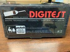 USED Digitest II Digital Pulp Vitality Tester w/ 4 autoclavable probe - Parkell