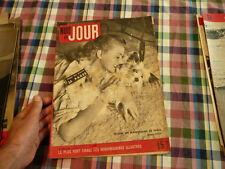 magazine hebdomadaire NUIT ET JOUR  n° 88 mouni un mannequin de paris  1946