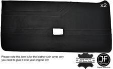 White stitch intégrale 2X porte carte cuir housse fits alfa romeo alfetta gtv