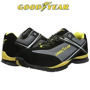 Mens Goodyear Safety Steel Toe Cap Work Ankle Womens Boots Trainers Shoe Size UK