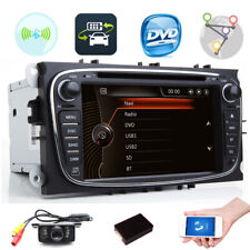 2DIN Car DVD GPS Navi for Ford Focus Mondeo Galaxy Kuga with Radio Stereo BT RDS