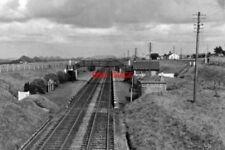 PHOTO  BREICH RAILWAY STATION MID-LOTHIAN 1962 CR EDINBURGH - GLASGOW MAIN VIA H