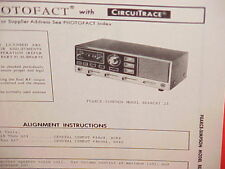 1971 PEARCE-SIMPSON CB RADIO SERVICE SHOP MANUAL MODEL BEARCAT 23