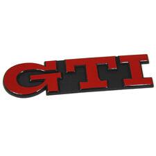 Original Volkswagen Golf 3 GTI Schriftzug hinten Heckklappen Emblem tornadorot