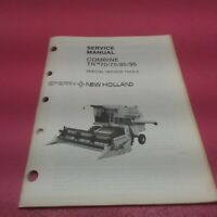 SPERRY NEW HOLLAND SERVICE MANUAL COMBINE TR™70/75/85/95 *SEE BELOW* (LT286)