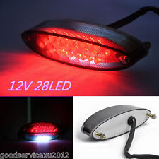 1 Pcs High Quality 12V 28LED Motorbike Brake Stop Light Tail Lamp DRL Waterproof