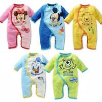 Newborn Baby Boys Girls Animal Bodysuit Outfit Costume Romper Clothes Set New
