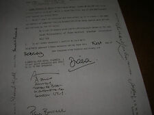 PRINCESS DIANA DI of Wales Copy of Original Will '96  Death Cert '97 8 pages