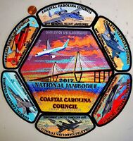 COASTAL CAROLINA COUNCIL SC OA 236 Unali'yi 2017 JAMBOREE  FLAP 7-PATCH DELEGATE
