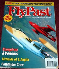 Flypast 1998 January Spitfire,Grumman Panther,Vampire,Venom,Mosquito