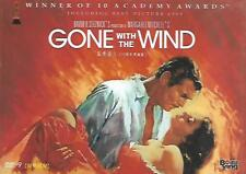 Gone With The Wind DVD Clark Gable Vivien Leigh 70th Anniversary Ed. R0