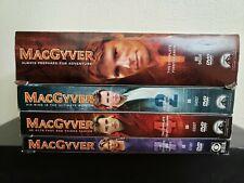 MacGyver Dvd Boxsets Seasons 1-2, 4 & 7 Dvd Lot