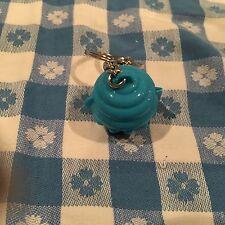 Tupperware Cupcake Keeper Mini  Keychain, Hinge, Opens, BLUE, Gadget, New