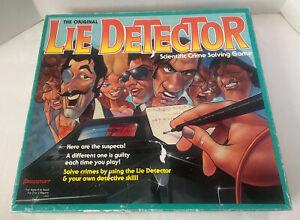 The Original Lie Detector Board Game Vintage 1987 Pressman Mattel 100% Complete
