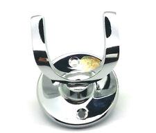 Solid Brass Chrome Twin Coat Hook, Hat or Bath Hook Hanger