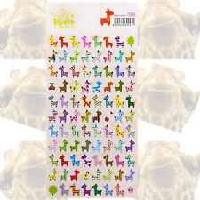 Giraffe Sticker Set 87 teilig  Deko Kinder Dekorieren Scrapbooking