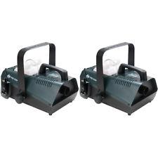 Pair ADJ Fog Fury 2000 1100W Smoke Machines 1411100007