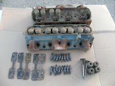 1971 Pontiac 400 455 Gto Firebird 96 Cylinder Heads Pair Big Flow Valve Heads