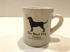 THE BLACK DOG Vintage CHATHAM, MA Ivory Heavy Diners Mug