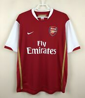 VINTAGE ARSENAL 20062008 HOME FOOTBALL JERSEY CAMISETA SOCCER MAGLIA SHIRT