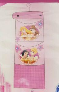 Disney Princess Hanging Storage - 2 Pockets 1 Net - Wall, Door, Wardrobe