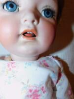 "ANTIQUE GERMAN BISQUE CHARACTER DOLL # 121 K & R SIMON & HALBIG  22"" T"