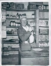 Talbotton Georgia Mayor Henry Persons in His Store Press Photo