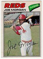 1977 JOE MORGAN CINCINNATI REDS OPC O PEE CHEE BASEBALL CARD #220