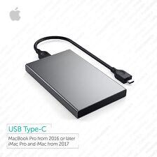 Macbook Pro, disco duro externo portátil 1TB, iMac:: USB-C:: arranque, Plug and Play