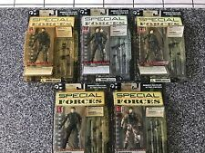 RESAURUS PLAN B SPECIAL FORCES MODERN MILITARY ACTION FIGURE LOT OF 5 NIB 1:12
