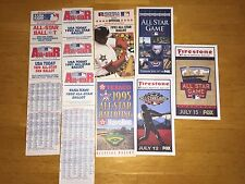 MLB BASEBALL ALL-STAR PAPER BALLOTS 1987,89,90,91,92,93,95, 2008,11&14