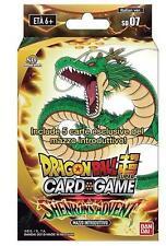 Dragon Ball Super - Card Game Italian SHENRON'S Advent Starter 07 (51 Cards)