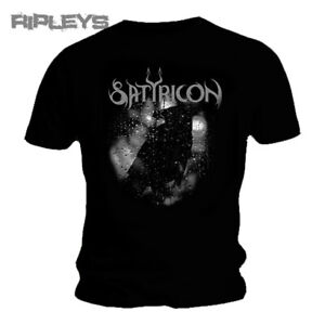 Official T Shirt SATYRICON Black Death Metal CROW on a Tombstone All Sizes