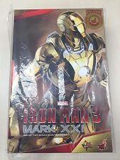 Hot Toys MMS 341 Iron Man 3 Mark XXI xxi 21 Midas (Gold Chrome Version) NEW