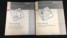 Original Users Manual for HP LaserJet 4 Printer, Software application Notes '92