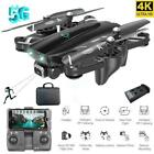 Mini Foldable Drone 5G 4k HD Camera WiFi FPV RC Drones GPS Aircraft Quadcopter