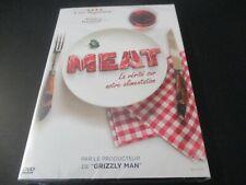 """DVD NEUF """"MEAT : LA VERITE SUR NOTRE ALIMENTATION"""" documentaire de David WHITE"""
