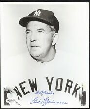 Fred Fitzsimmons {1901-1979} Signed 8x10 Photo in New York Yankees Uniform JSA