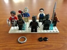 Marvel Black Panther Lego Set 76100 & 76099 MINI-FIGS ONLY NO SETS
