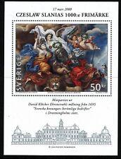 Sweden 2000 S/S Slania's 1000th stamp Painter David Klöcker Ehrenstrahl.  MNH